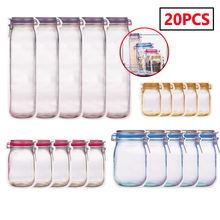 Многоразовые Пакеты на молнии для бутылок пакеты хранения продуктов