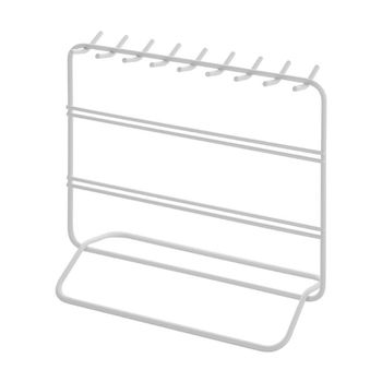 Earrings Jewelry Stand Necklace Storage Holder Display Rack Metal Display Shelf цена 2017