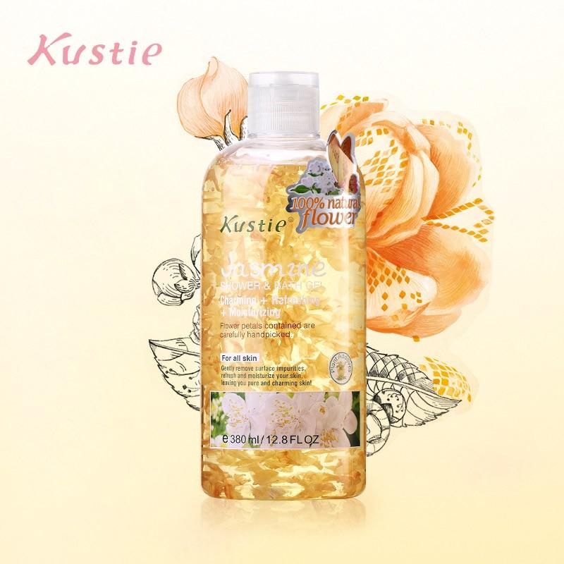 Kustie Jasmine Body Wash Shower Bath Gel Elegant Fragrance Whitening Body Wash Bath And Body Works