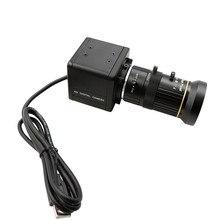 הגלובלי תריס במהירות גבוהה 120fps CS הר Varifocal 5 50mm UVC Plug Play ללא נהג USB מצלמה עם מיני מקרה