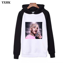 Casual Fashion Streetwear Hoodies Billie Eilish Xxxtentacion Rap Singer Hip Hop Printed Women / Men Long Sleeve