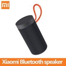 Xiaomi 야외 블루투스 스피커 휴대용 무선 듀얼 마이크 스피커 MP3 플레이어 스테레오 음악 서라운드 방수 스피커