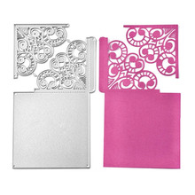 YaMinSanNiO Cutting Dies Crafts Metal Die for Scrapbooking Card Album Embossing Cut New Template
