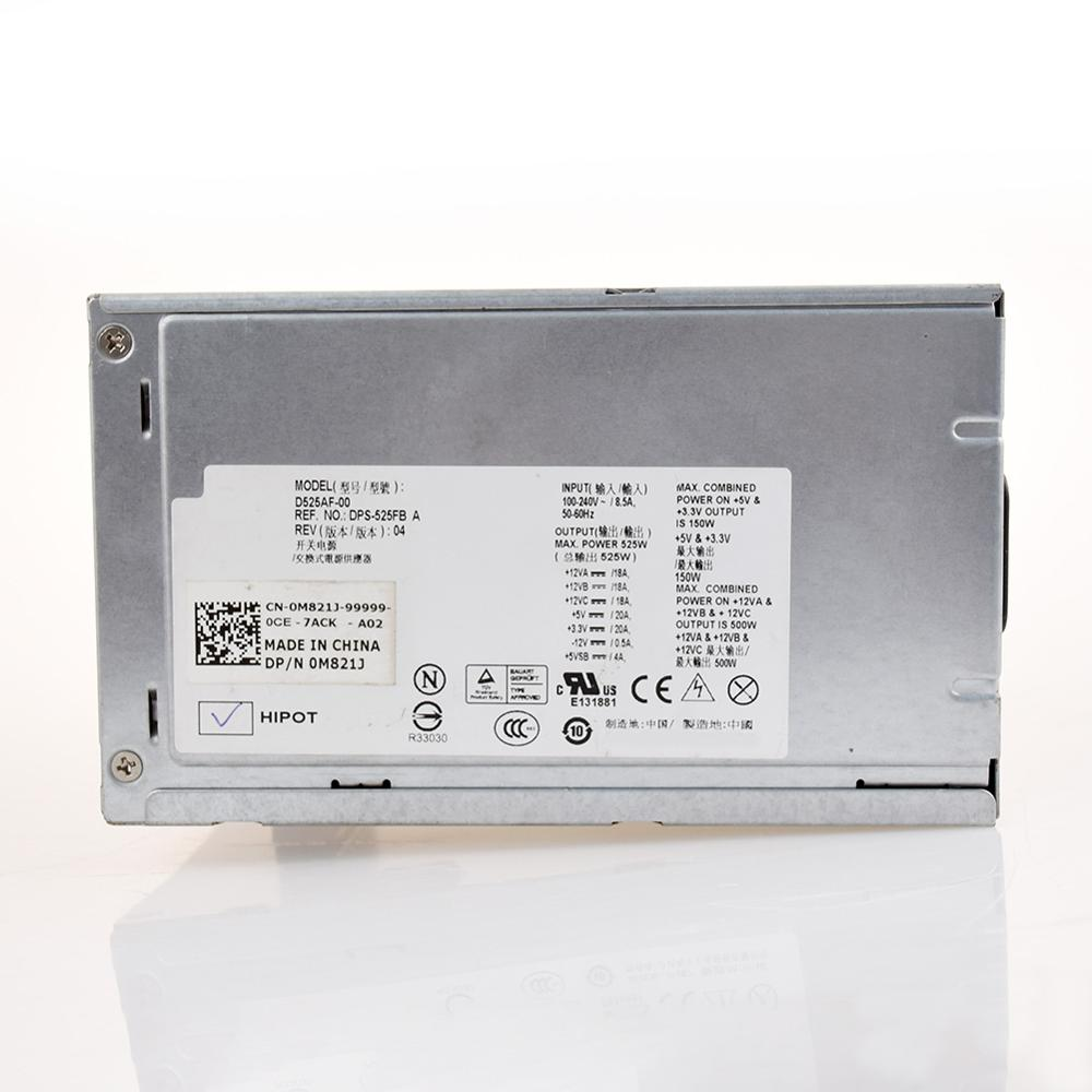 Для DELL T3500, мощность сервера 525 Вт, фотосессия X008G M821J 6W6M1