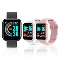 Y68 Smart Uhr Frauen Männer Sport Bluetooth Smart Band Herz Rate Monitor Blutdruck Fitness Tracker Armband für Android IOS