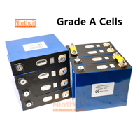 8PCS/LOT 3.2V 135Ah Lithium Iron Phosphate LiFePO4 Prismatic not 120AH 150Ah Battery With Busbars RV SOLAR EU US TAX VAT FREE