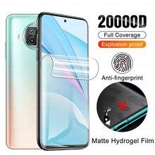 Matte Anti fingerprint Hydrogel Film For Xiaomi Mi 10T Lite 5G Screen Protector On 10 T 10tlite Mi10 T Mi10t No Protective Glass