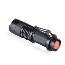LED UV  Mini Flashlight Ultraviolet Torch With Zoom Function Black Light Pet Urine Stains Detector Scorpion Hunting