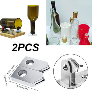 Image 2 - 2 ピース/セットワインボトル切削工具交換ための切断ヘッドガラスボトルカッターツール