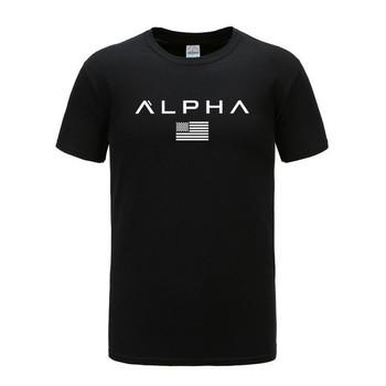 Męskie koszulki do biegania bawełniana koszulka na siłownię z krótkim rękawem t-shirty sportowe Fitness Gym koszulki do biegania koszulki treningowe koszulki męskie odzież sportowa tanie i dobre opinie Wiosna Lato AUTUMN Winter COTTON Pasuje prawda na wymiar weź swój normalny rozmiar