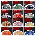 50g 1-4cm Natural Crystal Quartz Agate Gravel Mineral Healing Stone Gem Natural Crystals and Stones Healing Decoration Tank