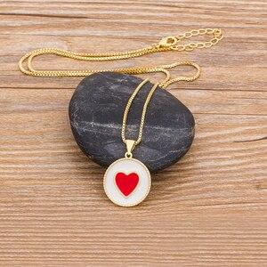 Новое поступление, Трендовое ожерелье с подвеской в виде сердца для женщин, женское элегантное золотое ожерелье с цепочкой, романтическое свадебное ювелирное изделие, подарки