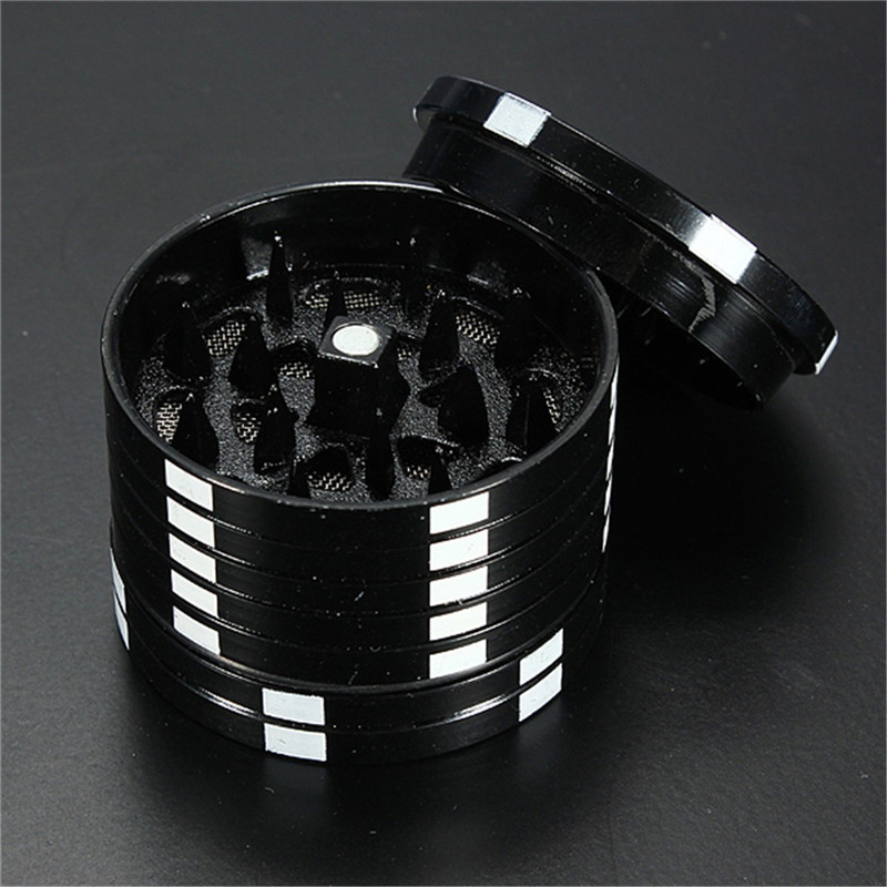 3 Layers Poker Chip Style Herb Herbal Tobacco Grinder Grinders Smoking Pipe Accessories gadget Red/Green/Black