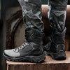 Botas de exterior para hombre calzado militar de seguridad para el trabajo resistente al agua