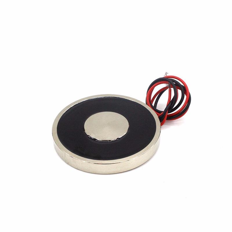 Электромагнит на присоске с присоской, с присоской и присоской, постоянный ток 12 в 24 В, цилиндрическая подъемная пластина с присоской весом ...