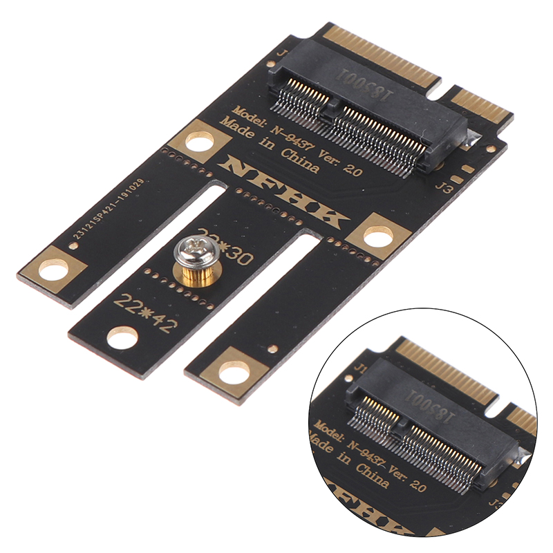 M.2 NGFF To Mini Pci-e (pcie+usb) Adapter For M.2 Wifi Bluetooth Wireless Card