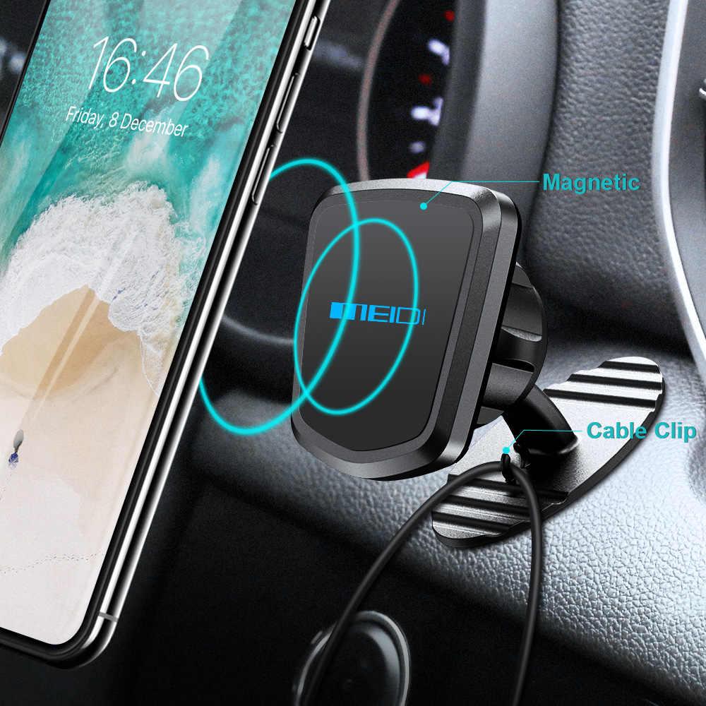 """Meidi Magnetik Mobil Ponsel Pemegang Dashboard Ponsel Mount Kompatibel dengan 3.5 """"-6.5"""" Smart Perangkat Berdiri untuk iPhone huawei Samsung"""
