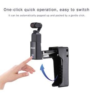 Image 3 - Ulanzi OP 9 4th Axi Stabilizer Handle Grip สำหรับ DJI OSMO พ็อกเก็ตพับ Z ประเภทตัวยึด OSMO อุปกรณ์