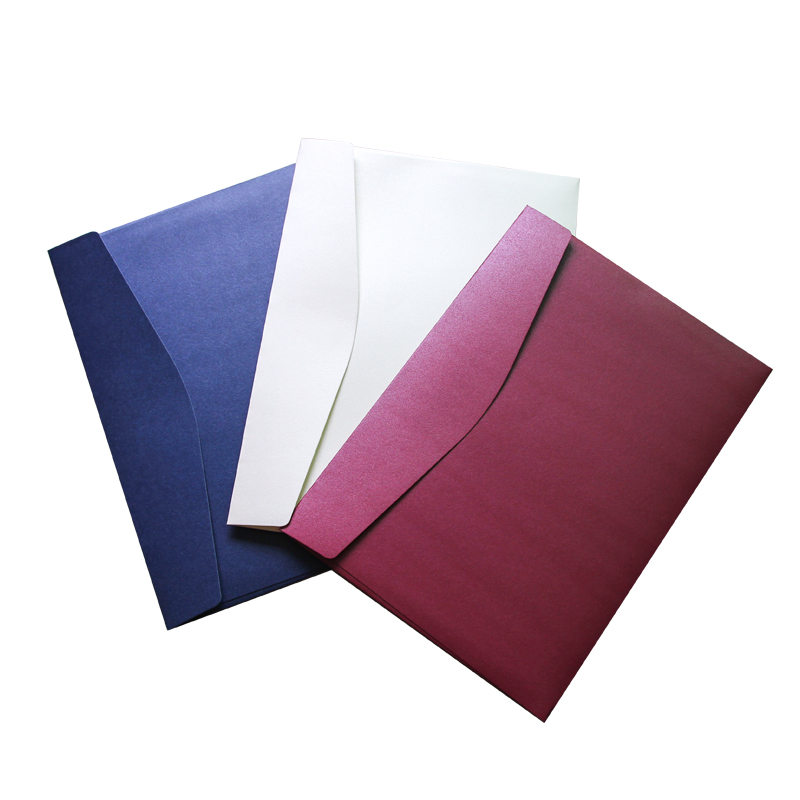 20pcs/set 230mX320m Pearl Envelope C4 Size Vintage Paper Envelope For Documents, Files, Photo Storage Drop Shipping