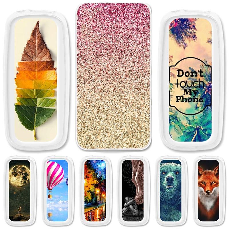 TAOYUNXI Soft TPU funda para Nokia 105 2017 fundas para Nokia 105 2017 TA-1010 1,8 pulgadas Flexible pintado cubiertas protectoras de silicona
