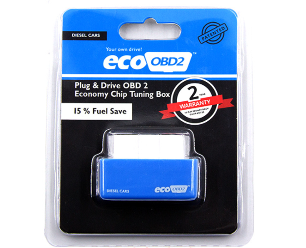 По DHL или FedEx 50 шт. автомобильный obd2 Eco полный чип EcoOBD2 экономичный чип OBD Автомобильный экономия топлива Eco OBD2 Автомобили экономия топлива тюнинговая коробка - Цвет: Синий