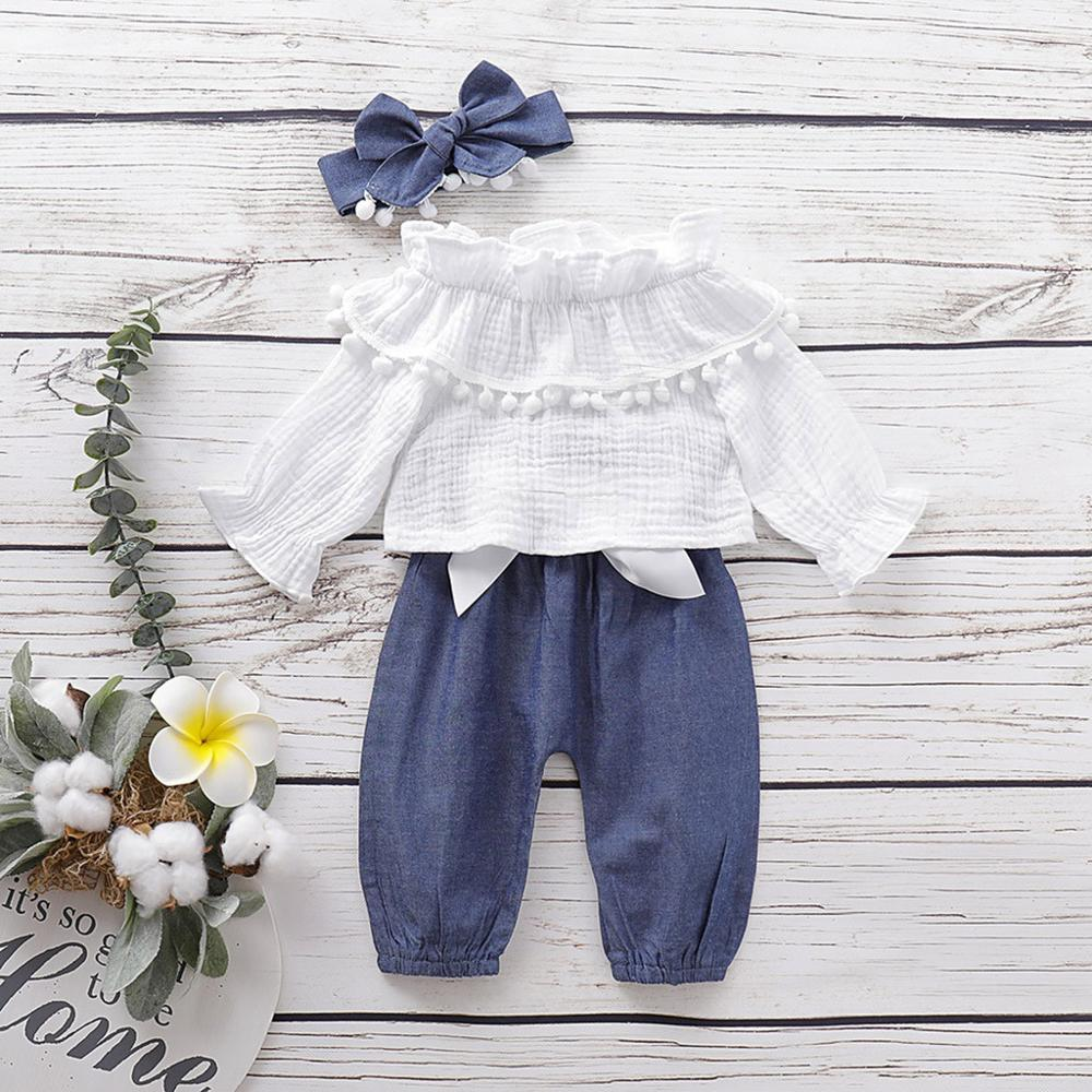 Soly Tech Little Girls Elastic Waist 3//4 Length Bowknot Loose Wide Leg Pants Trousers