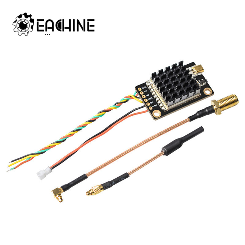 Eachine TX805S 5.8GHz 40CH AV FPV Transmitter VTX LED Display With Mic Heatsink Support OSD/Pitmode/Smart Audio For RC Drone