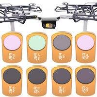 Hecho de filtro para DJI Mavic Mini filtros UV/CPL/ND8/16/32/64/Estrella/noche kit de filtro para el Mavic de DJI Drone Accesorios