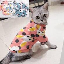 Doce Gato de Estimação Roupas para Gatos Gato Inverno Traje Katten Gotas Kedi Moletom Com Capuz Camisola do Filhote de cachorro Roupas Produtos Para Animais disfraz parágrafo gato