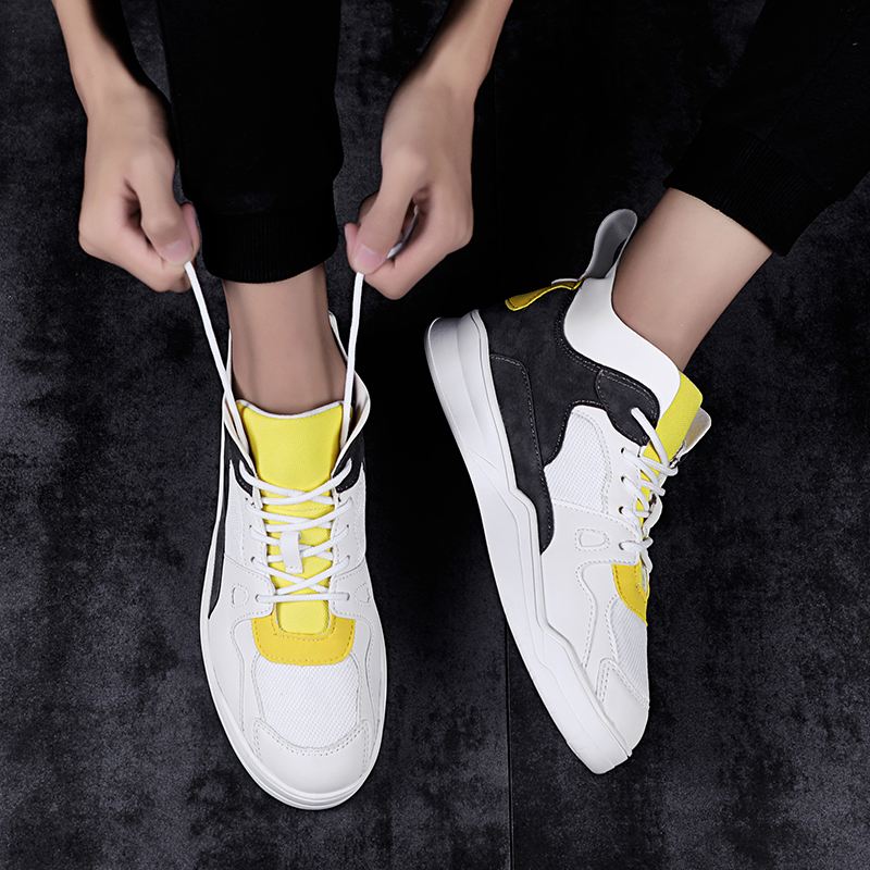 2019 Summer high top superstar shoes men luxury brand sneakers white designer casual shoes hip hop leather shoes men image