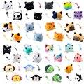 28 видов, двухсторонняя плюшевая кукла-Кот, гэто, плюшевые животные, единорог, двухсторонняя кукла-флип, милые игрушки для мягких игрушек, плю...