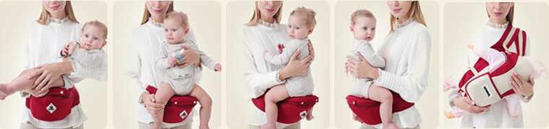 3-36M portador de bebé andador Baby Sling sujeción cinturón de cintura mochila cinturón de cadera para chico multifunción taburete