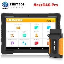 Humzor NexzDAS Pro OBD2 Scanner Automotivo Code Lecteur OBD 2 Voiture Outil de Diagnostic IMMO TPMS EPB DPF SAS ABS De Réinitialisation Dhuile Pk Nexpeak