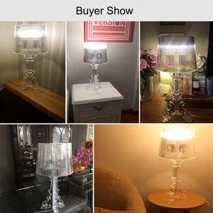Image 4 - Acrylic Table Lamp Crystal Bedside Lamp Led Desk Lamp Lamparas De Mesa Para El Dormitorio Tafellamp Living Room Bedroom Lamp E27