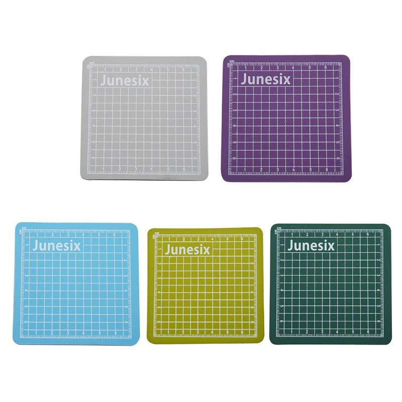 Sewing Cutting Mat Cutting Pad Patchwork Cut Pad  Patchwork Tools Manual DIY Tool Cutting Board Double-sided Plate 8 * 8cm