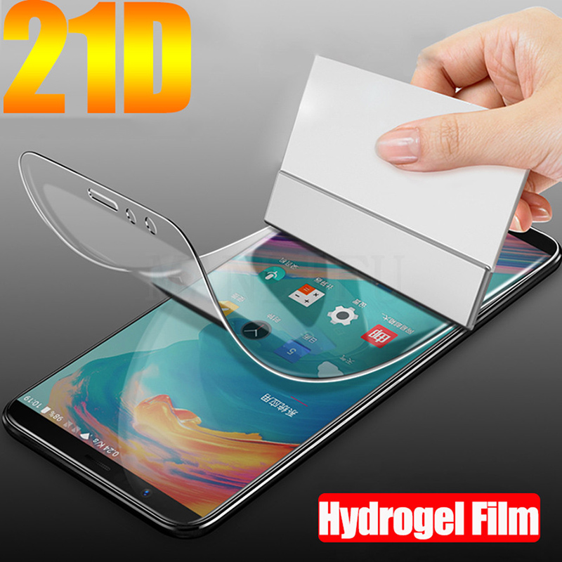 20D Full Protective Soft Hydrogel Film For Nokia 7.1 6.1 5.1 3.1 2.1 7 Plus 8.1 8 Sirocco 6 Tpu Screen Protector Film(Not Glass)