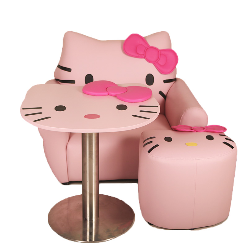 Children's Learning Sofa Princess Sofa Hello Kitty Sofa Set Cute Cartoon Chair For Kids