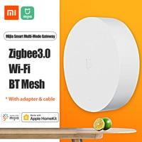 Xiaomi Mijia Smart Multi-Modus Gateway ZNDMWG03LM 2,4 GHz Wifi Zigbee 3,0 BT 5,0 Mesh Hub Stimme APP Control smart Verknüpfung