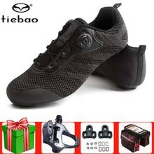 Tiebao Men Road Cycling Shoes Bike Sapatilha Ciclismo Black Racing Triathlon Zapatillas Breathable Bike Hombre Sneakers Women