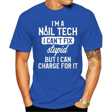 Camiseta 2021 t-shirt de algodão masculina camisa t uma tecnologia do prego pode cobrar por ele