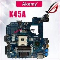 K45A motherboard QCL40 LA 8221P motherboard para ASUS K45VD A45V K45VM K45VS A85V K45A mainboard Laptop motherboard teste OK