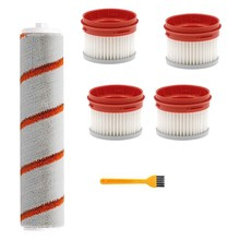 HEPA Filter for Xiaomi Dreame V9 Wireless Handheld Vacuum Cleaner Accessories Hepa Filter Roller Brush Parts Kit(China)