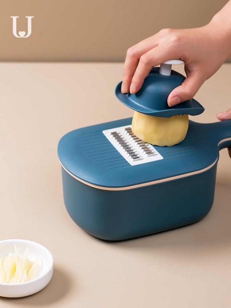 Vegetable Cutting Artifact Potato Shreds Multi-function Grater Slicer Kitchen Gadget Peeler Cutting   Food Chopper