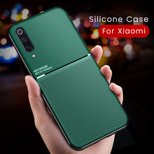 Luxe Silicone Magnetische Auto Houder Case Voor Xiaomi Mi 9 Se Lite 9 T 8 A2 A1 A3 Note 10 Redmi Note 7 8 Pro 8 T 7a 8a Pocophone X2(China)