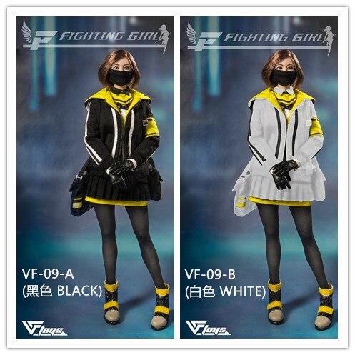 """VFtoys VF-09 1//6 Scale Fighting Girl Yellow Skirt Model for 12/"""" Female Figure"""