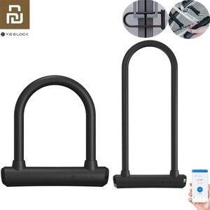 Youpin yeelock Intelligent U Lock sliding door Car Motorcycle Bike padlock window Password Waterproof To Phone APP Smart remote(China)