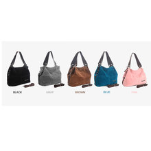 2019 New Women Bag Corduroy Shoulder Female  Handbag Ladies Casual Large Capacity Crossbody