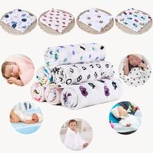 1шт + муслин + 100% 25 + хлопок + младенец + пеленки + мягкий + новорожденный + одеяла + ванна + марля + младенец + накидка + спальный мешок + коляска + чехол + игра + коврик