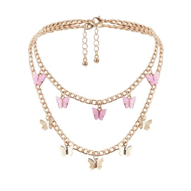 новое модное женское двухслойное ожерелье ретро романтическая фотография