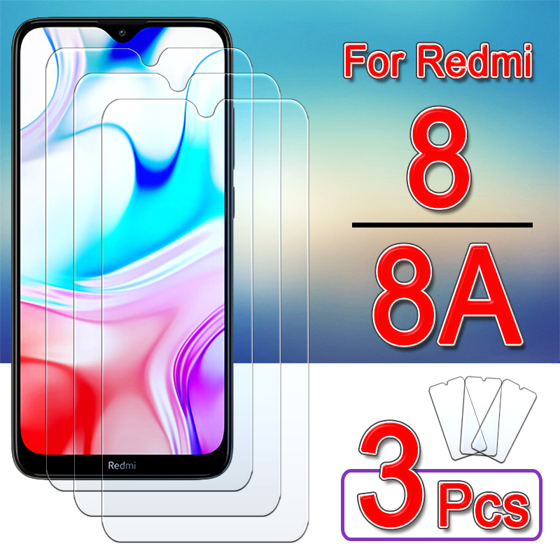 Redmi 8 Glass Protective For Xiaomi Readmi 8a 8 A Screen Protector Redmi8 Redmi8a A8 Armored Safety Tempered Glas 1 To 3 Pcs